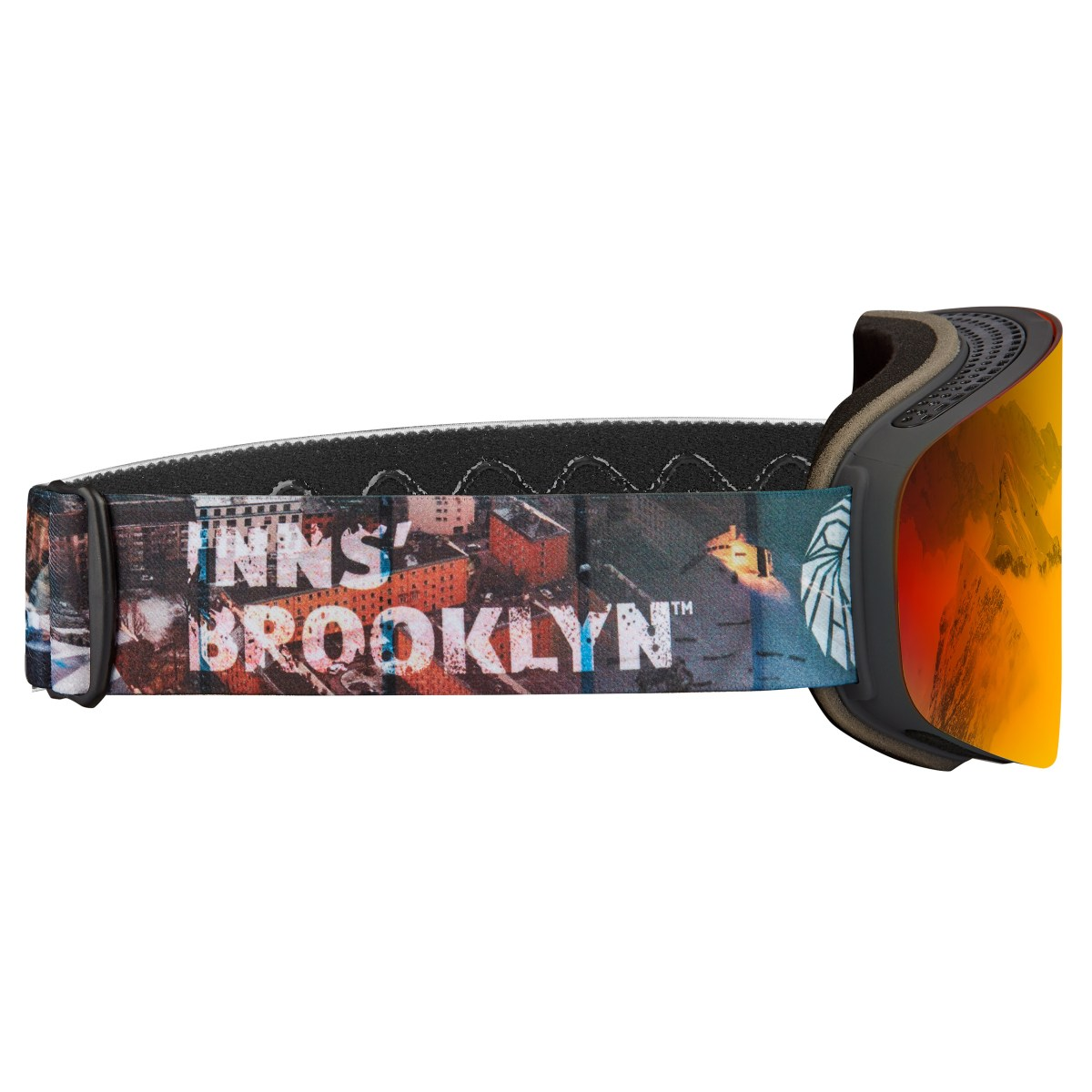 DELAYON Eyewear Innsbrooklyn Goggle Space Fire by Quirin Müller and Paul Gilmore