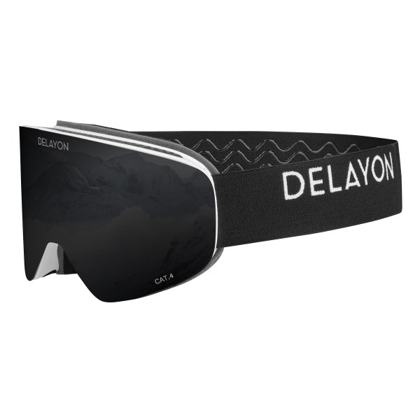 DELAYON Eyewear Core 2.0 Goggle White Black STRONG Black