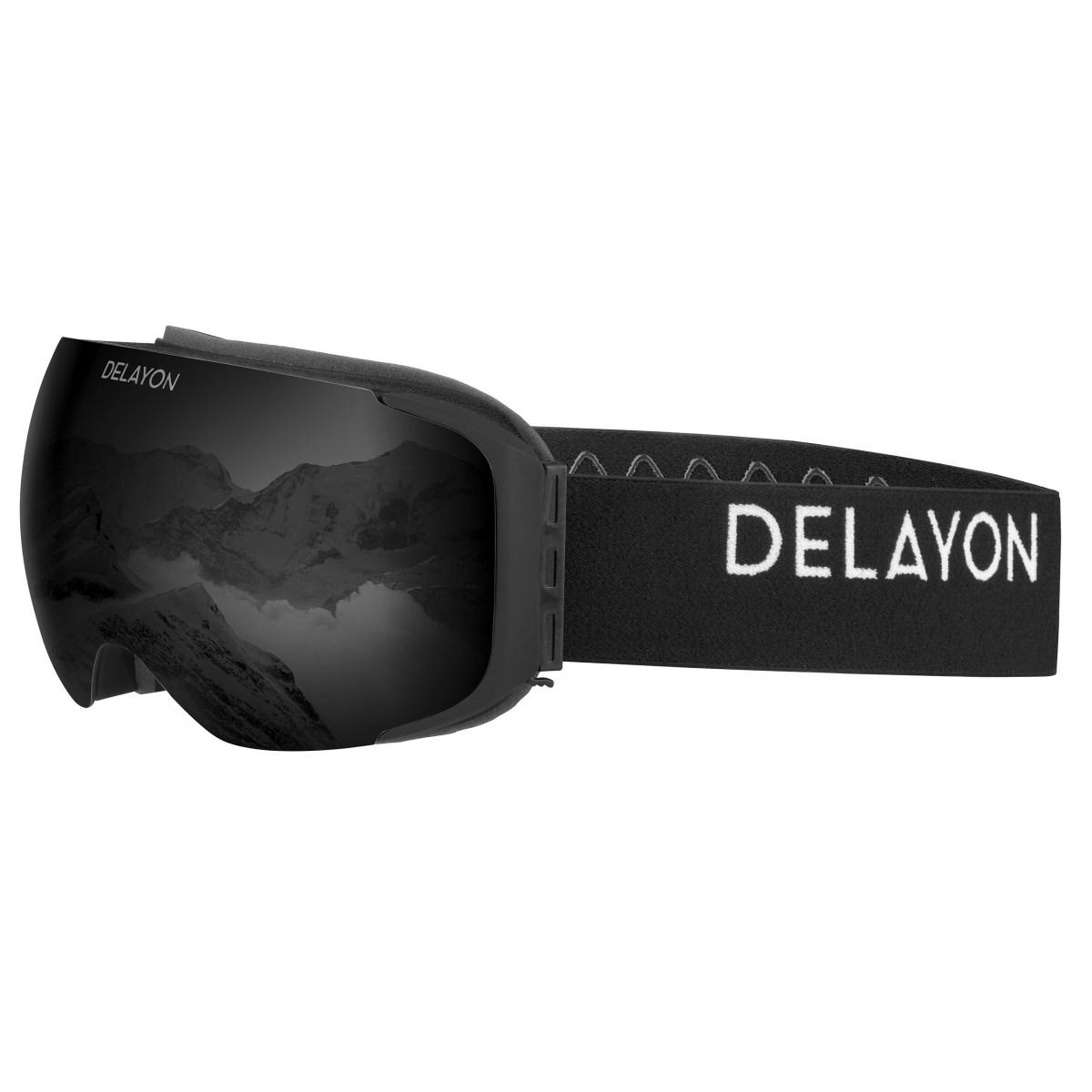 Delayon Eyewear Explorer Goggle Matte Black Strong