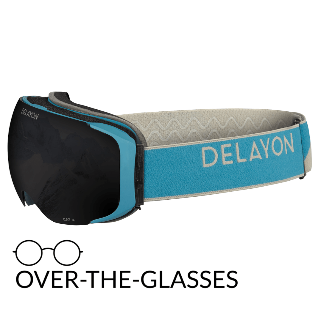 DELAYON Eyewear Explorer OTG Navy Gray STRONG Black