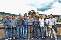 2015 06 13 Encuentro en Deusto (3) Rico, Iñake Sánchez, Víctor López, ...