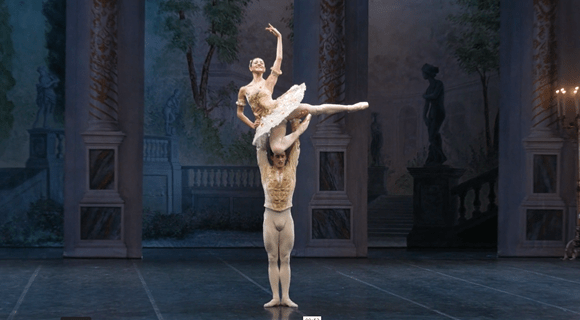 ballet dancers from the Teatro alla Scala
