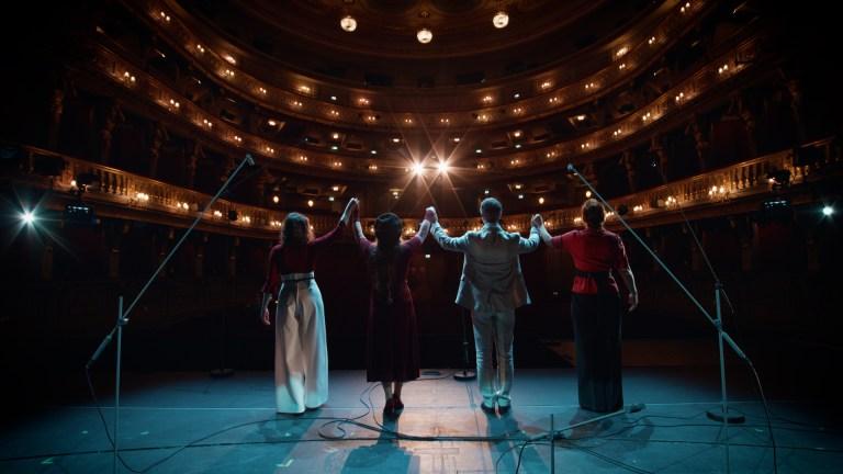 Mozart Stage Vienna Aufatmen Projekt