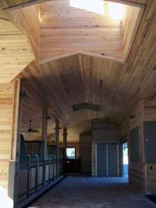 Westwood Cypress Walls and Ceiling