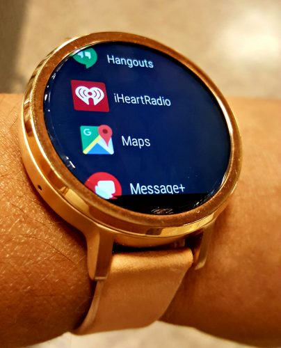 APPS ON THE MOTO360 SMARTWATCH