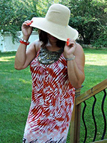 sun hat from Walmat