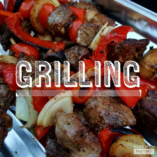 grilled foods taste better