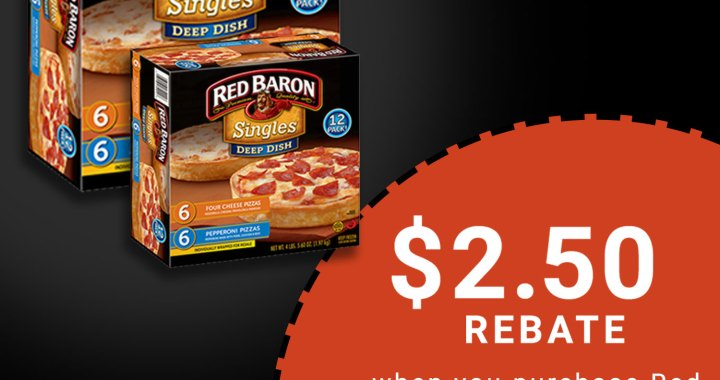 Red Baron® Deep Dish Singles Satisfies Family & Friends!