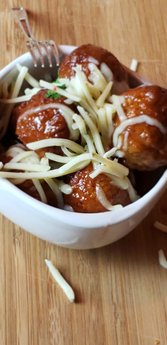 Slow-Cooked-Cranberry-Meatballs