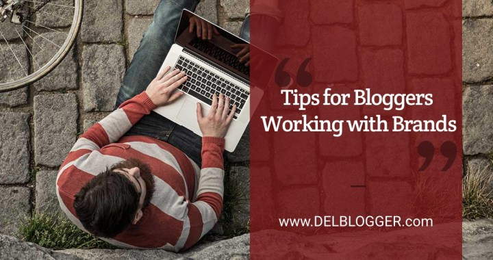 5 Tips for Bloggers Working with Brands
