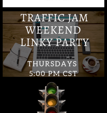 Traffic Jam Weekend Linky Party #189 – Sharing is Caring