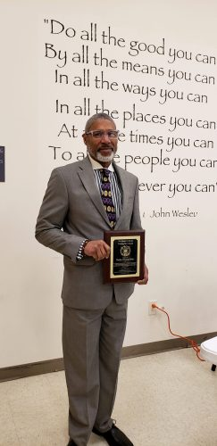 Brother Gregory Blake, The James R. Harris Unsung Hero Award recipient