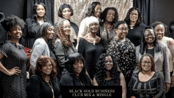 Black Gold Business Club Mix & Mingle