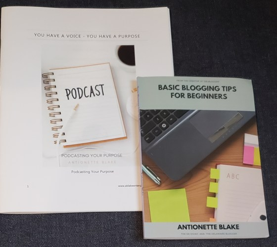 Blog Your Way to a Business Profit and Podcasting Your Purpose Resource Guide