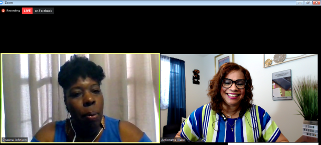 Antionette Blake interviewed by Shawna Johnson