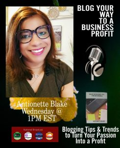Blog Your Way to a Business Profit Podcast Cover Art