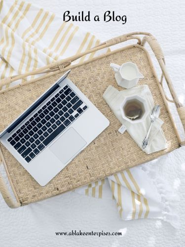 Build a Blog Cover Art