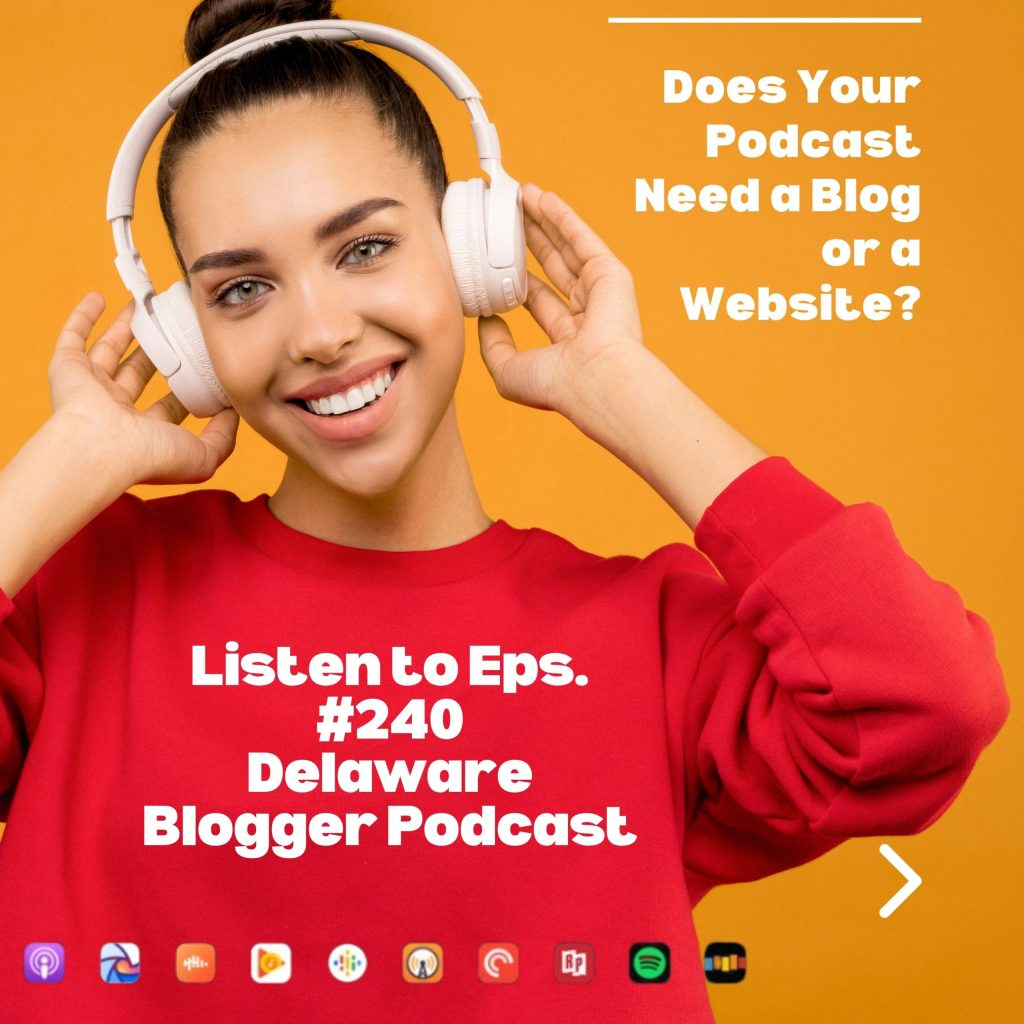 does your podcast need a blog or a website