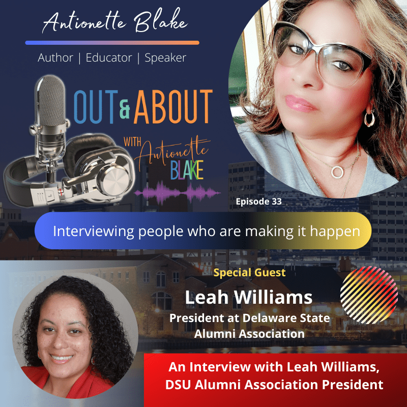 Leah Williams podcast interview promo