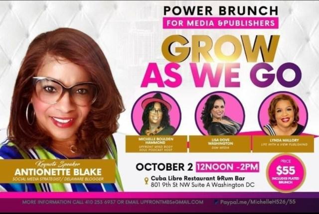Grow as We Go Power Brunch