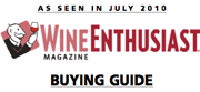 a scanned image of the 92 points Wine Enthusiast Magazine article quoted in this 92 point wine review