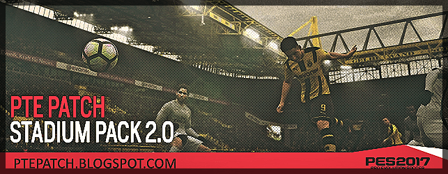 PES 2017 PTE Patch Stadiums Pack 2.0