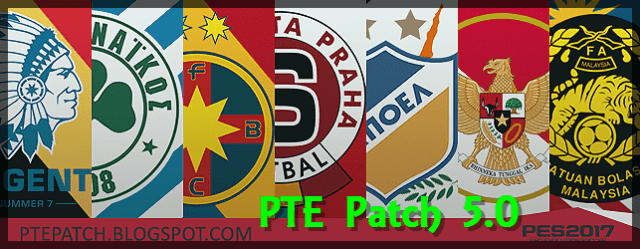 PTE Patch 5.0 PES 2017 download and install on PC