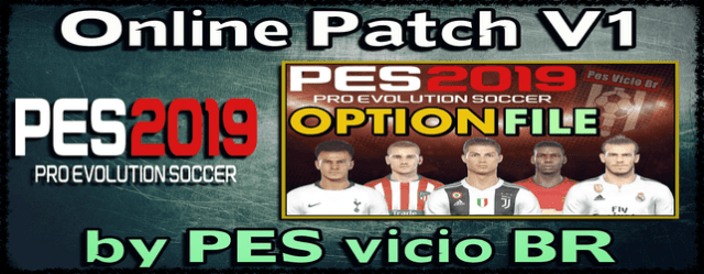 PES 2019 Online Patch for PC/PS4 (Correct Kits + Logos