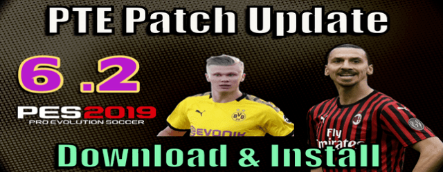 PTE Patch 6.2 update for PES 2019 next season