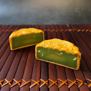 Sugar-Free Pandan Lotus with Salted Mung Bean