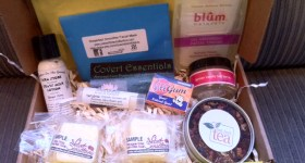 Natural Review Box Monthly Subscription – Holiday Gift Idea!