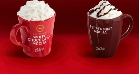 McDonald's McCafe White Chocolate Mocha {Review & Giveaway}
