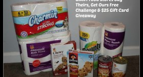 GIANT Food Stores Buy Theirs, Get Ours Free Challenge & $25 Gift Card Giveaway