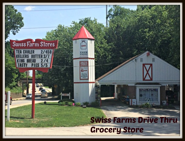 Swiss Farms DRive Thru Grocery Store