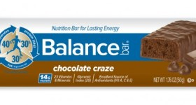 Celebrate National Milk Chocolate Day with Balance Bar and a Giveaway!