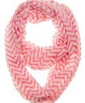 Soft Chevron Sheer Infinity Scarf – Many Under $5 – $10 Shipped – Great Pollyanna or Holiday Gift!