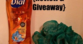 New Dial Miracle Oil Body Wash {Review & Giveaway}