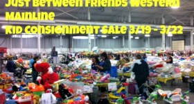 Just Between Friends Western Mainline Kid Consignment Sale 3/19 – 3/22 #JBFPhilly