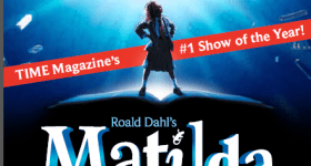 Matilda the Musical at the Academy of Music in Philadelphia 11/17 – 11/29 {Discount Code}