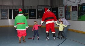 Skate with Santa at Marple Sports Arena Saturday, December 19th 4-6 PM