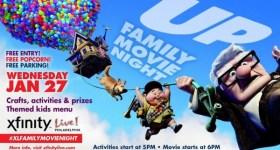 Xfinity Live! FREE January Family Movie Night Event Featuring Up! 1/27/16 #XLFamilyMovieNight