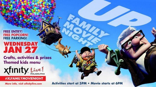 UP! Family Movie Night Graphic