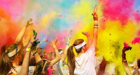 The Color Run Philadelphia hosts Smurfs: The Lost Village on 6/25/17 at Citizens Bank Park {& a Giveaway}