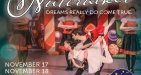 The PA Academy of Ballet Society presents The Nutcracker at Upper Darby Performing Arts Center November 17th – 19th