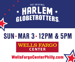 See the Harlem Globetrotters LIVE at the Wells Fargo Center in Philadelphia 3/3/19 with a Discount Code & Ticket Giveaway