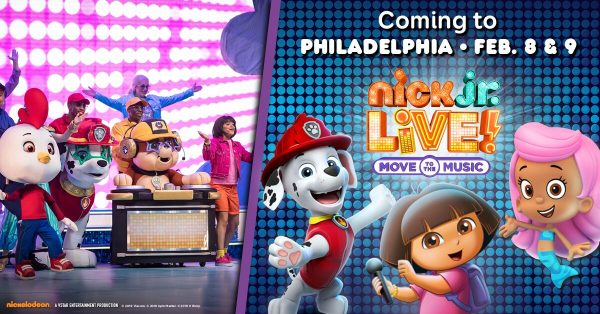 NICK JR LIVE! Move to the Music Coming to the Academy of Music Philadelphia Feb 8th & 9th {& a Discount Code and Giveaway}