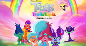 Trolls Trollstopia Streaming on Hulu Beginning Thursday November 19th {& a Coloring Page}