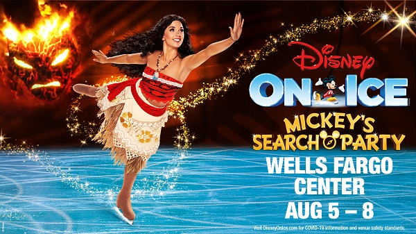 Disney on Ice: Mickey's Search Party is Coming to Wells Fargo Center Philadelphia August 5th – 8th {& a Giveaway}