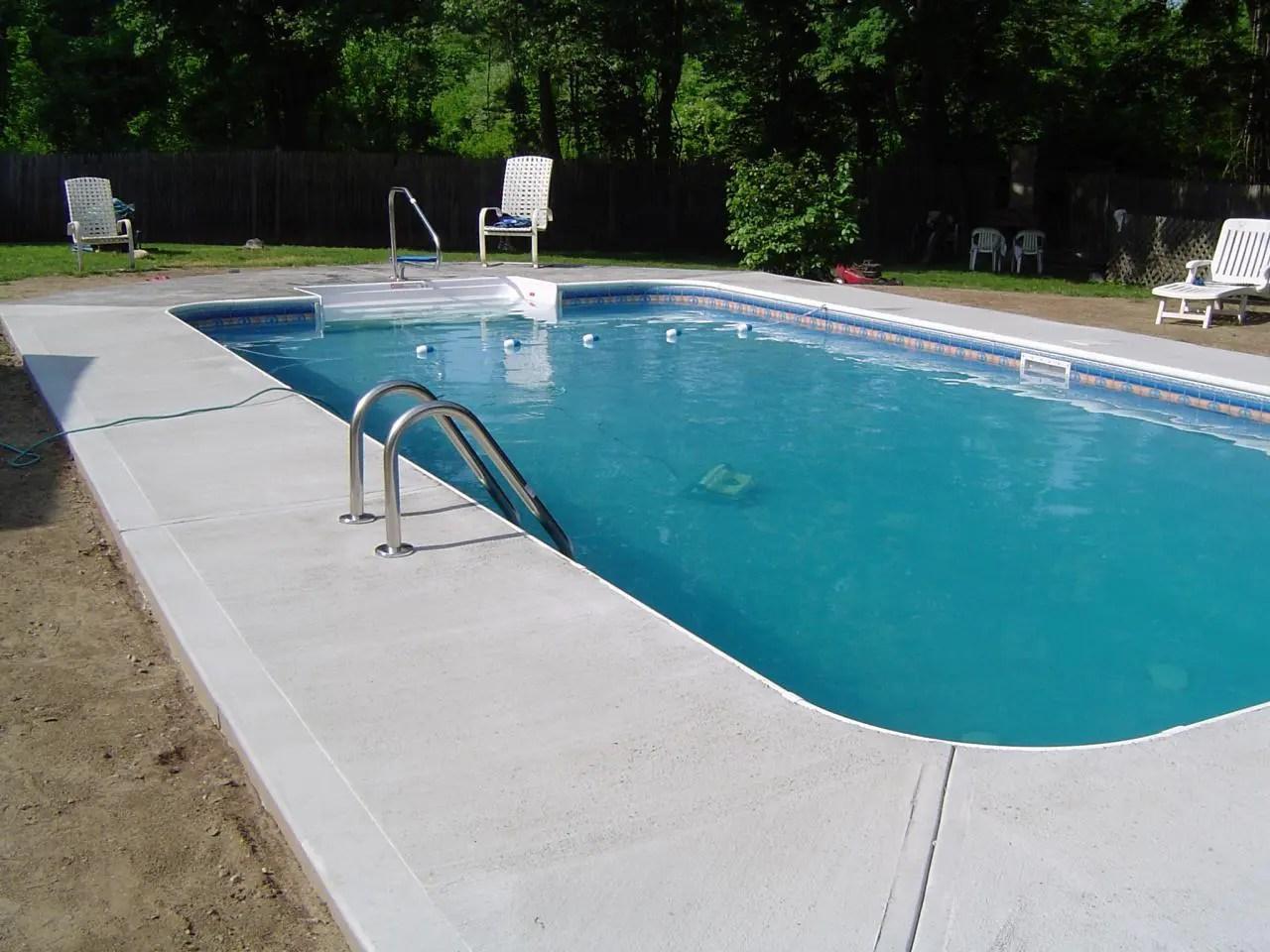 Pool Concrete Company   Pool Decking Concrete Contractor ... on Patio Ideas Around Pool id=12760