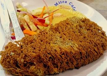 Fish Fry at Mitra Cafe